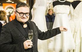 Aleksandro Vasiljevo parodoje – ir anksčiau nerodyta Astos Valentaitės vestuvių vakarėlio suknelė