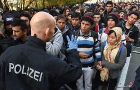 Kodėl Vokietijos pareigūnams beveik neįmanoma susitvarkyti su pabėgėlių srautu?