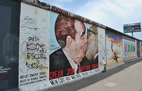 Vokietijoje prasideda Berlyno sienos griūties 25-ųjų metinių minėjimų savaitgalis