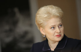 Lithuania's president says she'd run for re-election as independent candidate