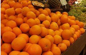 VMVT uždraudė realizuoti daugiau kaip 60 tonų nesaugių apelsinų iš Turkijos
