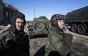 """Debalcevėje sužeistas Rusijos karys: """"Į ištrūkti bandančius ukrainiečius negailėjome šaudmenų"""""""