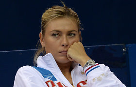 """Marija Šarapova turės praleisti prestižinį """"WTA Qatar Open"""" turnyrą"""