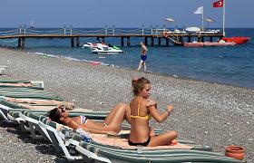 Smūgis Turkijos turizmui: sausį Antalijoje apsilankė 81 proc. mažiau rusų turistų
