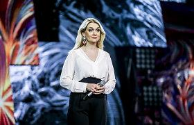 """""""Eurovizijos"""" atranką paliko dar trys dalyviai, lydere tapo Rūta Ščiogolevaitė"""