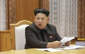 Šiaurės Korėja dėl tariamai priešiškos veiklos suėmė JAV studentą