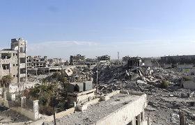 Sirijoje per užminuoto automobilio sprogimą žuvo aštuoni žmonės