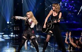 """Madonna ir Taylor Swift per """"iHeartRadio"""" apdovanojimus surengė jausmingą pasirodymą"""