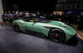 """""""Aston Martin"""" bendrovė pribloškė karštuoju """"Vulcan"""", kurio pagamins tik 24"""