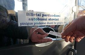 Kauno viešajame transporte bus ribojamas atsiskaitymas stambiomis kupiūromis