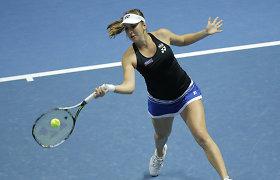 Sankt Peterburgo turnyro favorite laikoma Belinda Benčič pateko į ketvirtfinalį