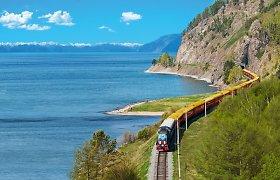 Per pasaulį ant geležinkelio bėgių: penki įspūdingiausi traukinių maršrutai