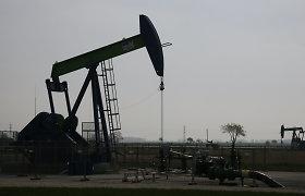 Naftos kainos smuko žemiausiai per beveik trylika metų