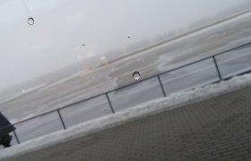 Dėl tiršto rūko skrydis iš Palangos į Oslą atidėtas kone parai