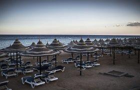 Egipto turizmo pramonė merdėja, o Šarm aš Šeichas tampa vaiduoklių miestu