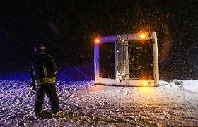Ketvirtadienį, kai į Lietuvą grįžo žiema, avarijose sužeista 18 žmonių