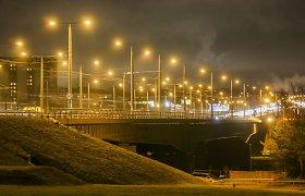 Pranešimas apie užminuotą Lazdynų tiltą Vilniuje nepasitvirtino