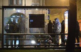 Sprogimas autobusų stotelėje ant kojų sukėlė Maskvos pareigūnus