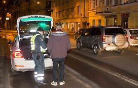 Vilniuje po neabejingos merginos pranešimo – girto dviratininko gaudynės