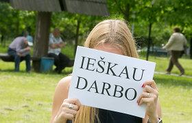 Lietuvoje darbo neturi 26 tūkstančių jaunų žmonių