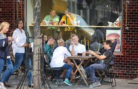 Rugsėjo 1-ąją restoranuose ir kavinėse – apgultis