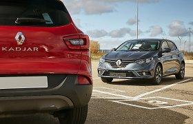 """Renault"" grynasis pelnas 2015 metais pašoko beveik 50 proc."