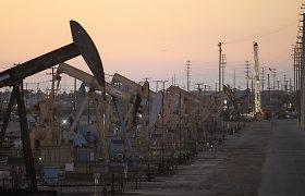 Naftos kaina šoktelėjo daugiau nei 5 proc.