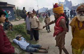 """Nuo gamtos stichijos nukentėjusiam Nepalui aukoja ir Pakistanas, ir """"Pepsi"""""""