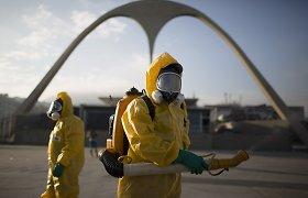Zikos virusas verčia nerimauti net dėl olimpinių žaidynių dalyvių saugumo