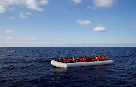Libijoje į krantą išmesti 41 migranto palaikai