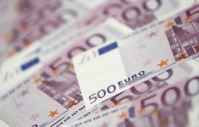 Gali nebelikti 500 eurų kupiūrų