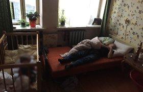 Širvintų rajone bėgdama nuo girto vyro moteris likimo valiai paliko mažametį vaiką