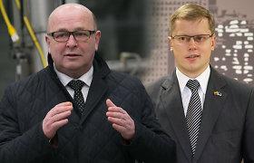 Po Visvaldo Matijošaičio ir Andriaus Kupčinsko dvikovos partijos laukia postų viliotinio