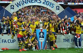 """12-ą kartą FA čempionais tapę """"Arsenal"""" futbolininkai pasiekė rekordą"""