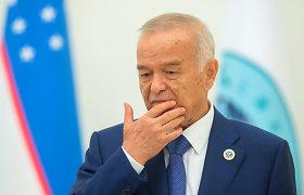 Mirė Uzbekistano prezidentas Islamas Karimovas