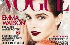 """""""Hario Poterio"""" žvaigždė Emma Watson: filmo kūrėjams buvau tikra rakštis"""