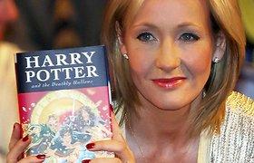 """""""Hario Poterio"""" autorė užsiminė apie naujus magiškus nuotykius, netrukus ji pristatys naują projektą"""