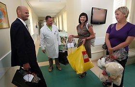 Vasarą ligoninėje praskaidrins dovanos