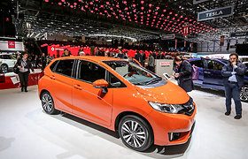 """Ženevoje debiutavo naujasis """"Honda Jazz"""" miesto automobilis"""