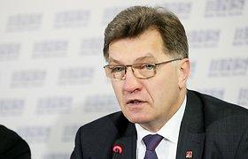"""Algirdas Butkevičius: """"Peršasi tik vienas klausimas – ar liberalai dar turi sveiko proto?"""""""
