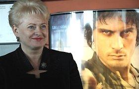 """Dalia Grybauskaitė: filmo """"Tadas Blinda. Pradžia"""" kūrėjai Lietuvą matė mylinčiomis akimis"""