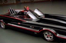 Aukcione bus parduodamas originalus Betmeno automobilis