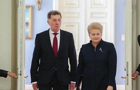 Dalia Grybauskaitė apie Algirdą Butkevičių: jis neadekvačiai vertina situaciją ir neigia problemas