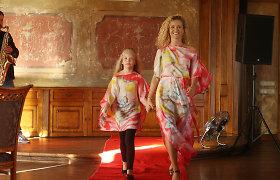 Edita Daniūtė dukrai Evitai linki modelio karjeros, bet tik su viena sąlyga