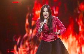 """Aistė Pilvelytė """"Eurovizijos"""" atrankoje dainuoti ryžosi su 39,6 temperatūra: """"Dainavau žarnomis"""""""