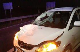 Šeštadienio vakarą – kraupi avarija kelyjeKlaipėda–Liepoja, žuvo žmogus