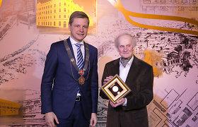 Architektui Algimantui Nasvyčiui suteiktas Vilniaus miesto garbės piliečio vardas