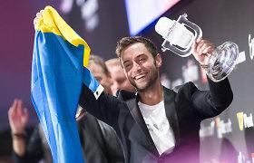 """Į Lietuvą atvyksta """"Eurovizijos"""" nugalėtojas Mansas Zelmerlowas"""