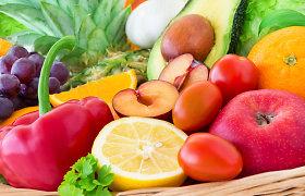 Vaisiai ir daržovės gerina psichologinę žmogaus būklę