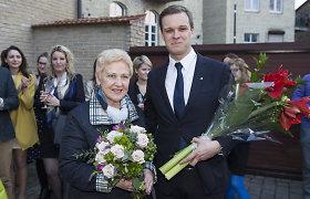 I.Degutienė TS-LKD pirmininko rinkimus laimėjusiam G.Landsbergiui: jaunystė nugalėjo